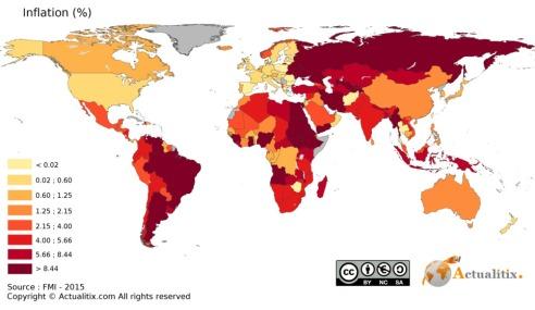 carte-inflation-dans-le-monde